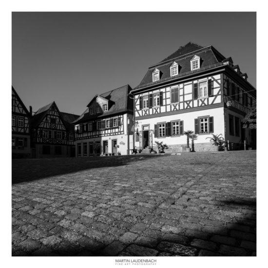 Fachwerkhaus auf dem heppenheimer Marktplatz