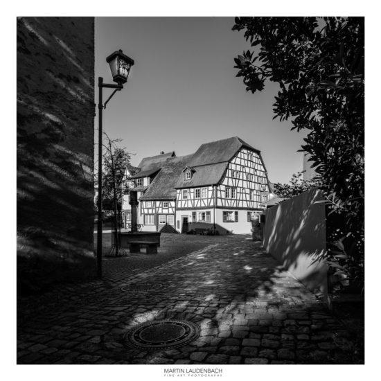 Fachwerkensemble im historischen Kern von Heppenheim