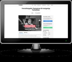 Zuhause Fotografieren lernen mit den Online-Fotokursen der fotocommunity Fotoschule