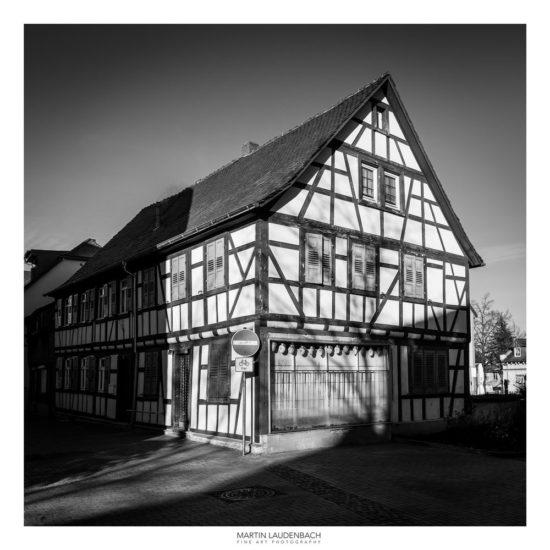 Fachwerkhaus in Lorsch - Sehenswürdigkeiten in Bergstraße fotografieren