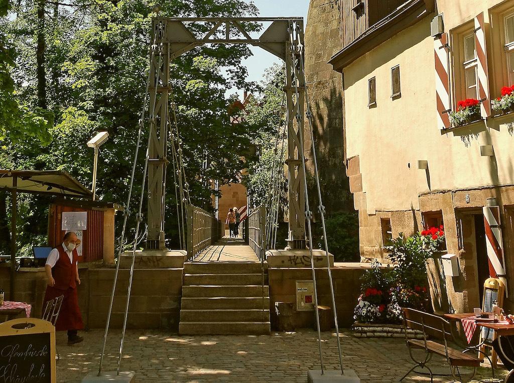 Auf Fototour in Nürnberg: Der Kettensteg