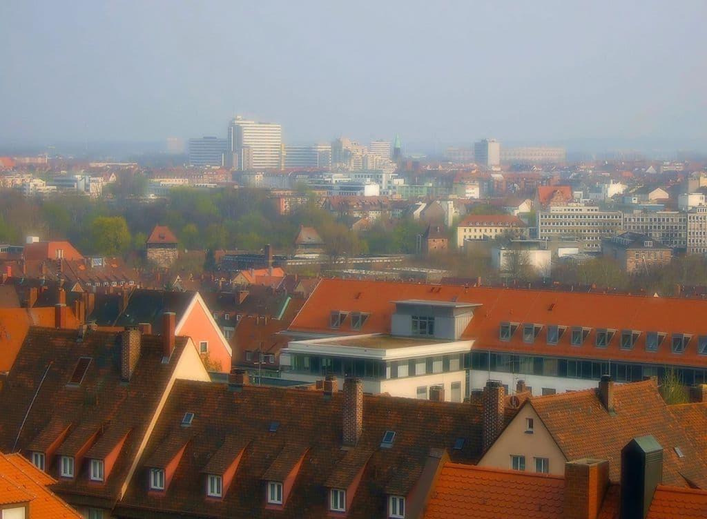 Blick über Nürnberg fotografieren
