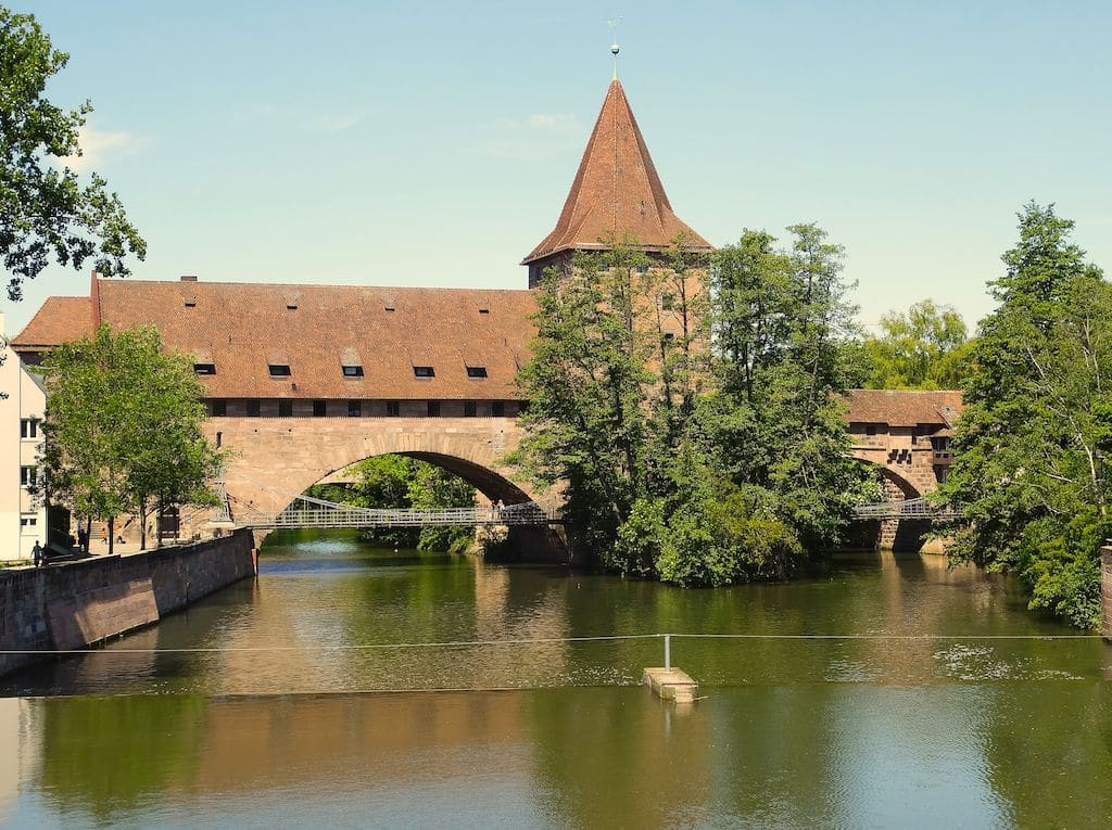 Fotografieren in Nürnberg: Der Kettensteg