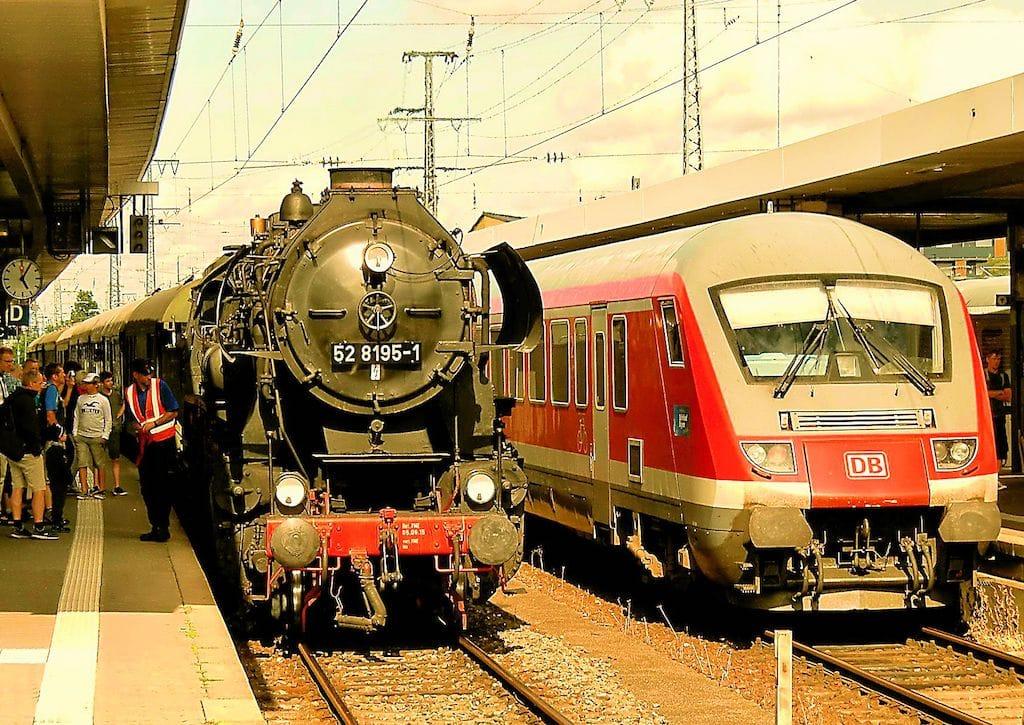 Dampflok Event in Nürnberg