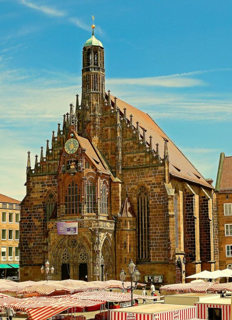 Frauenkirche in Nürnberg fotografieren