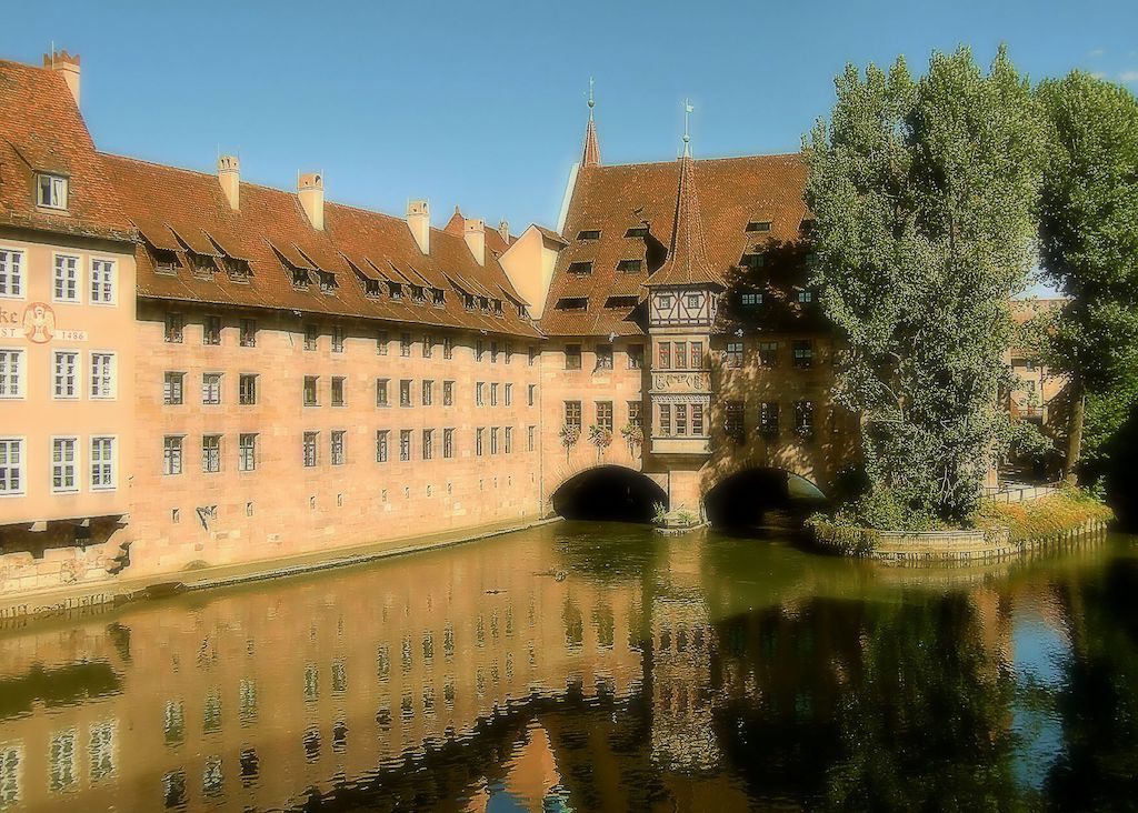 Das Heilig-Geist-Spital in Nürnberg