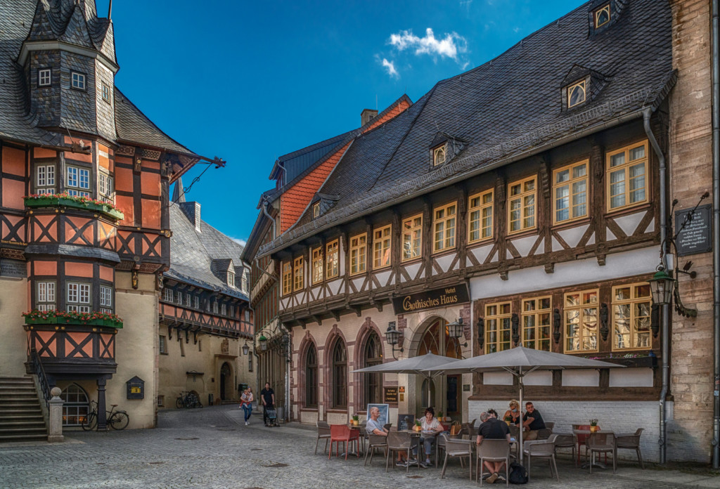 Gothisches Haus von B. Anton Werner im Harz fotografieren