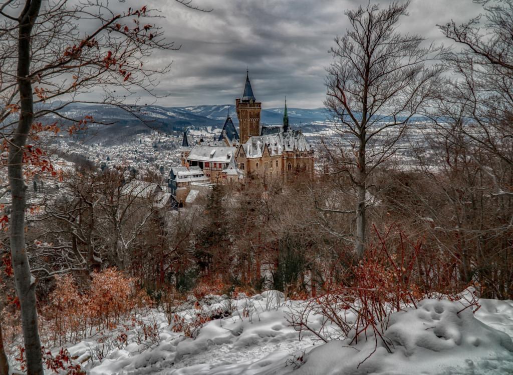 mit Schnee - den Harz fotografieren