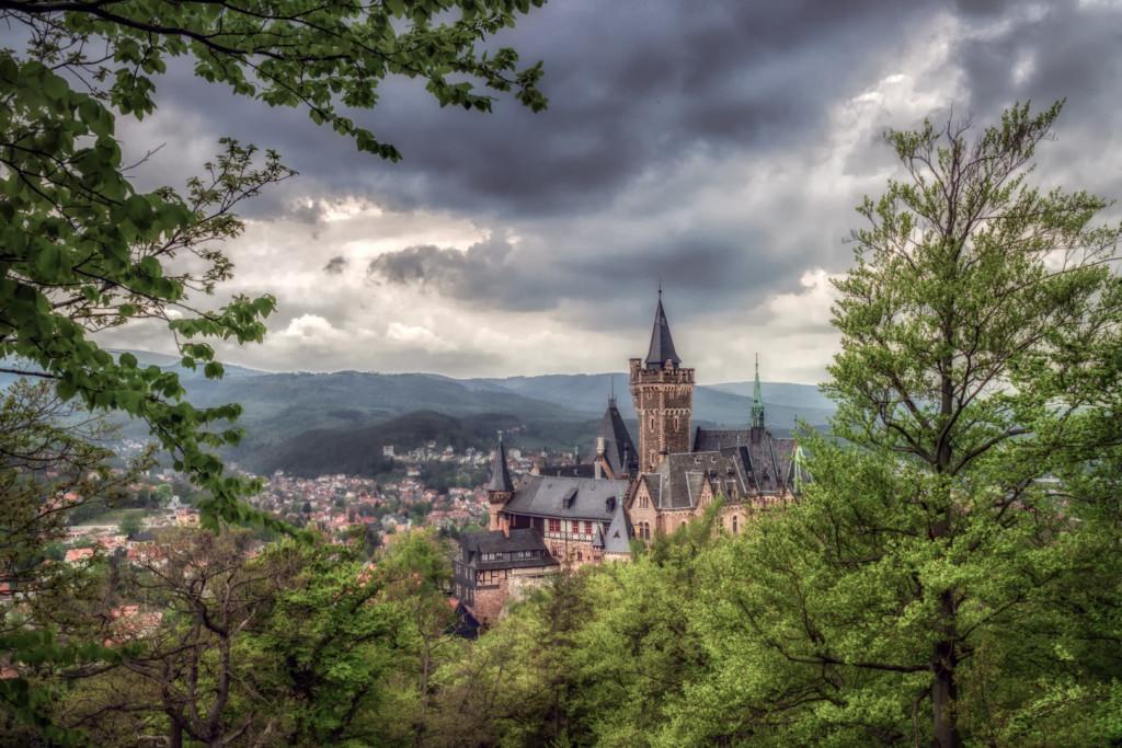 Schloss Wernigerode, Harz footgrafieren