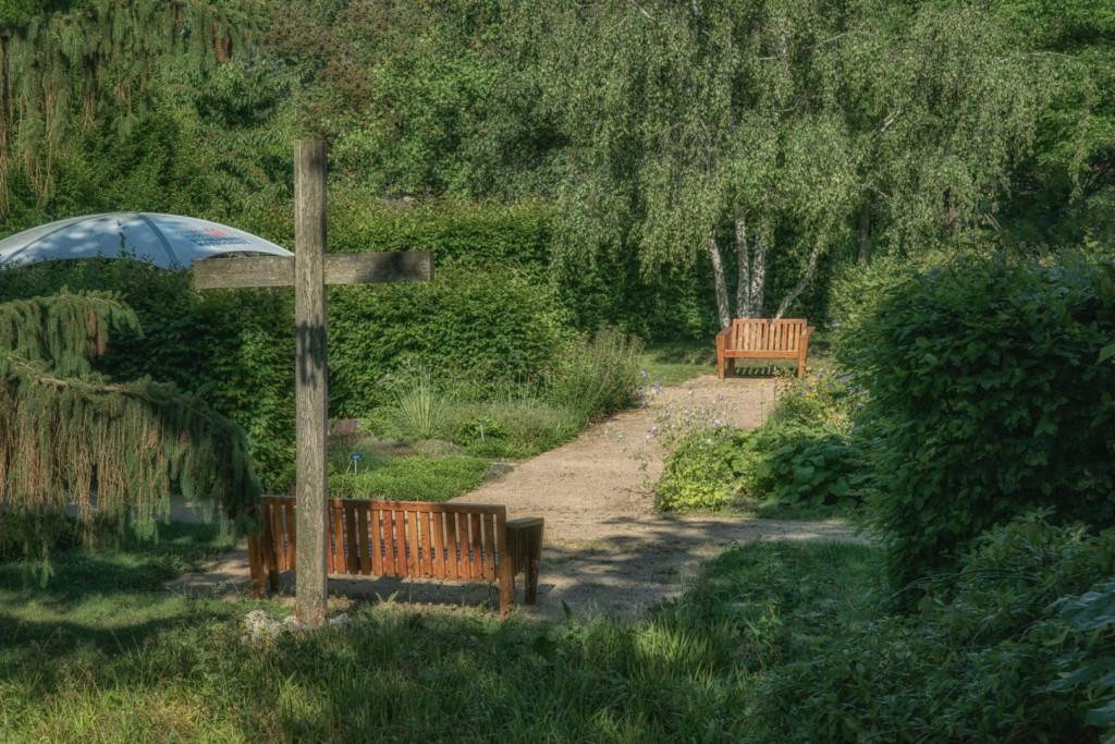 Gartenlandschaft im Bürgerpark Wernigerode