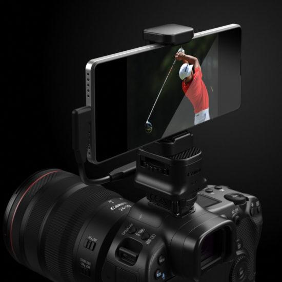 Canon EOS R3 - Adapter für Smartphone