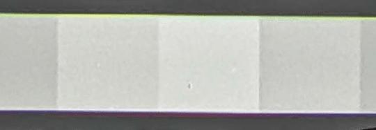 Farbige Säume beim Kameratest