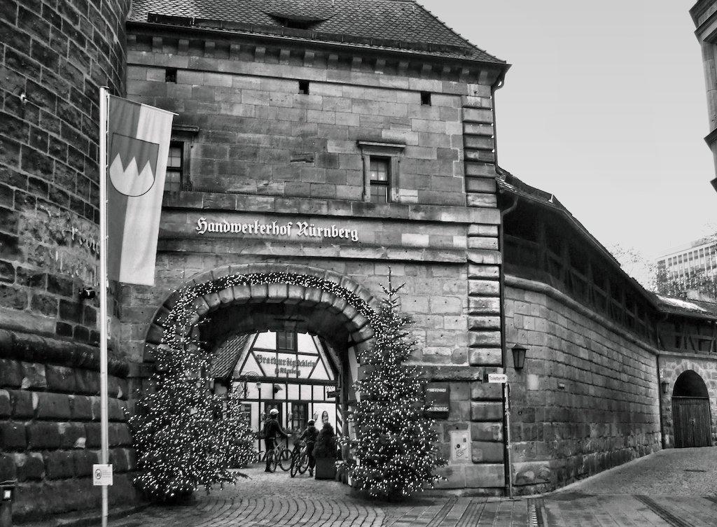 Sehenswürdigkeiten in Nürnberg fotografieren: Der Handwerkerhof