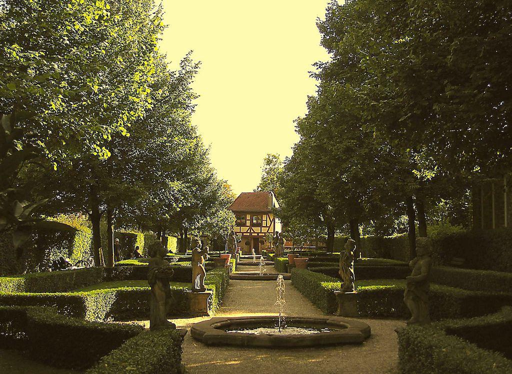Ziergärten in Nürnberg fotografieren
