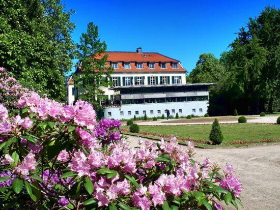 Schloss Berge und der Berger See sind ein beliebtes Erholungsgebiet