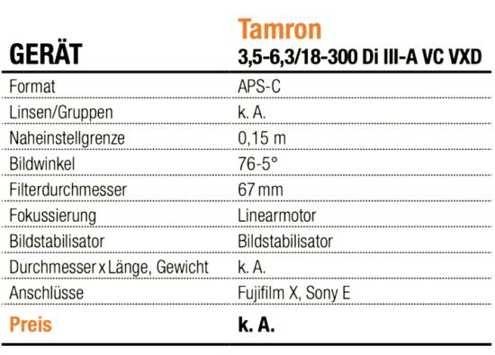 Tamron 2-2,8/35-150mm Di III VXD