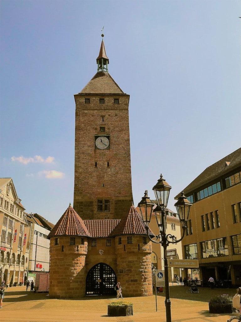 Der Weiße Turm von Nürnberg